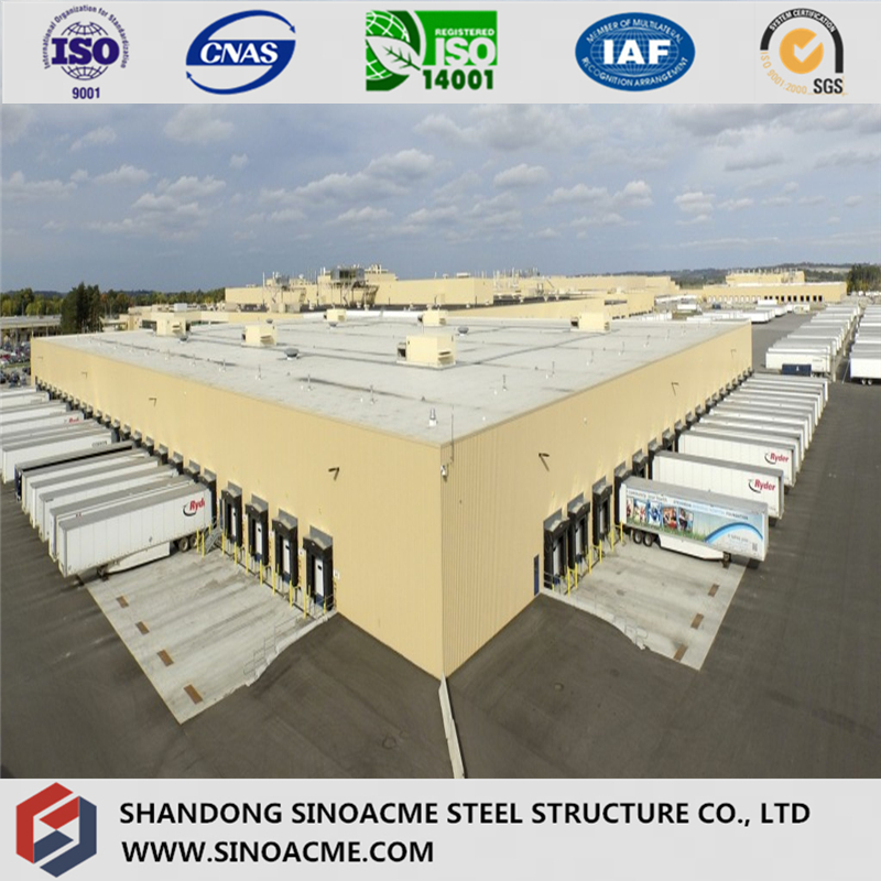 ISO Certificated Wordwide Largely Used Steel Frame Garage/Wrehouse