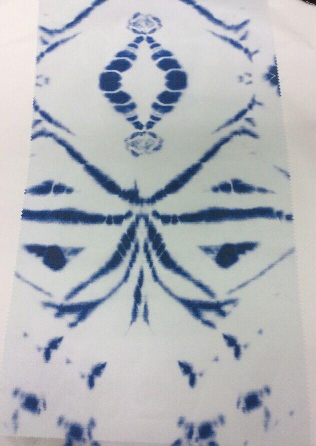 Elegant Fashionable Printed Organza Fabric
