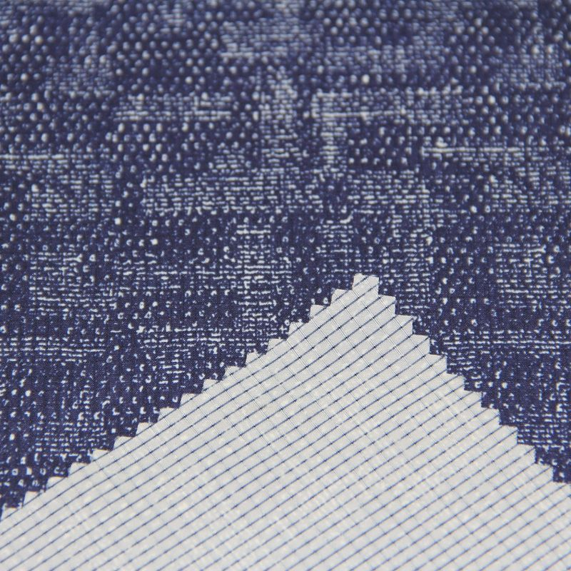 Polyester T400 Fabric with Printed for Men's Spring Jacket or Windbreaker