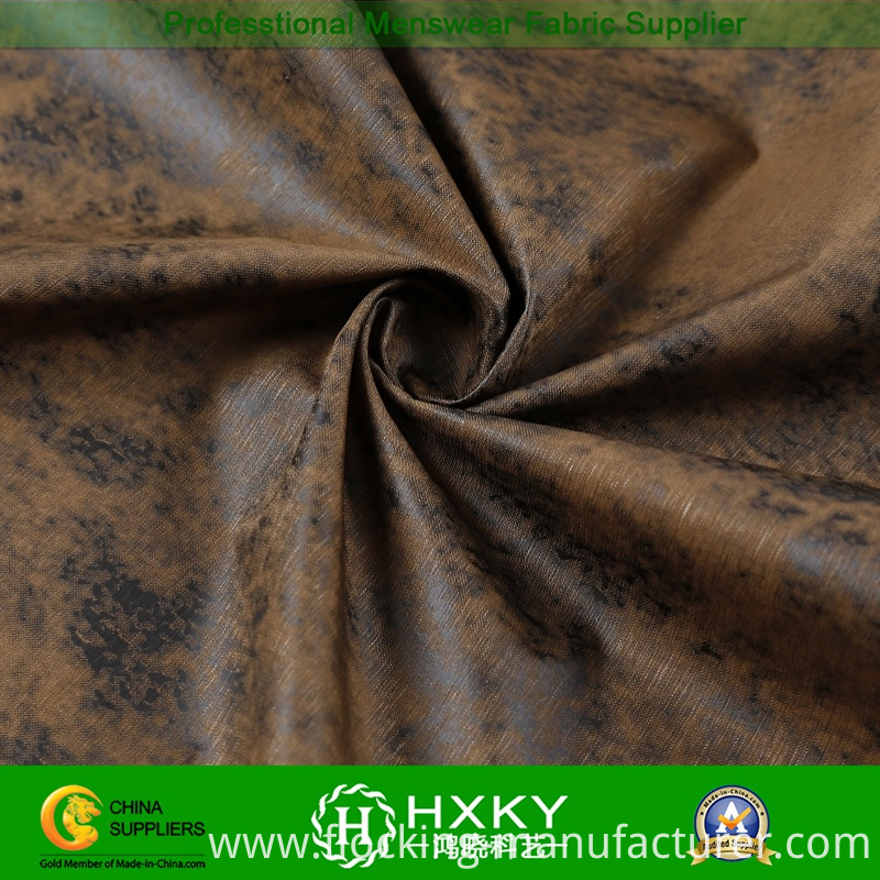 Printed Polyester Fabric with Fashion Design for Casual Jacket