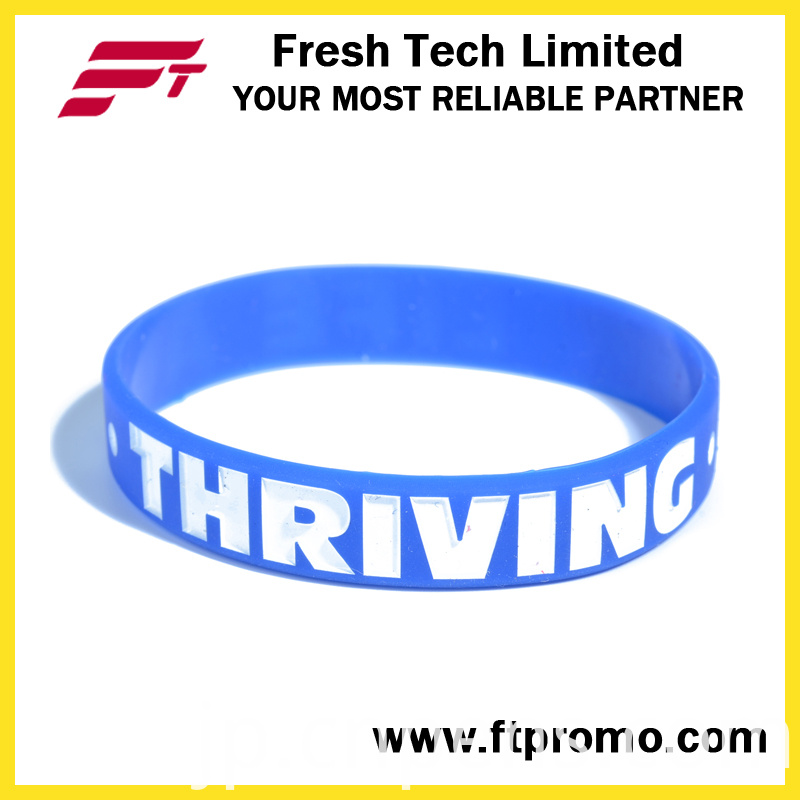 Eco-Friendly Promotional Bracelet Customized Silicone Wristband