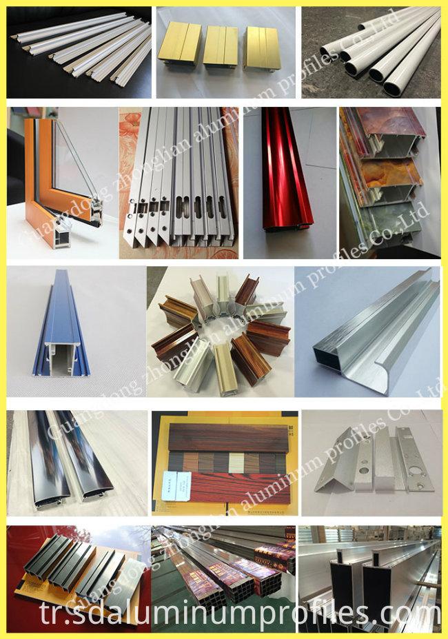 Customized Aluminium Extrusion Profile Aluminium Louvers /Shutters for Windows