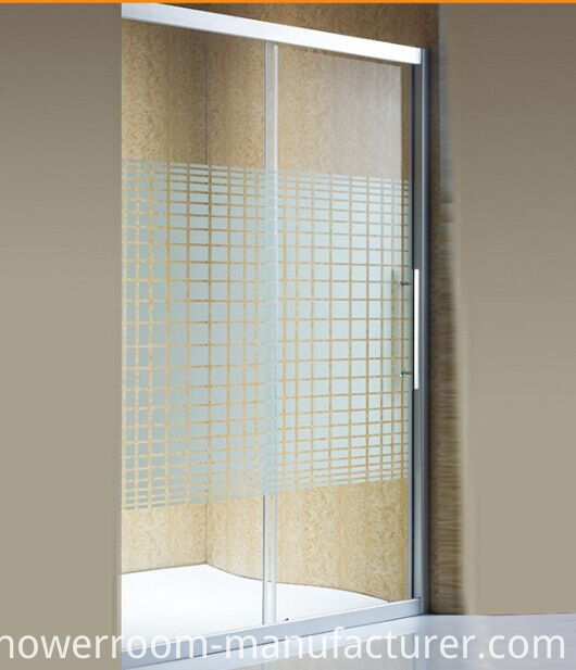 One Side Sliding Glass Door for Bathroom (ADL-8A3)