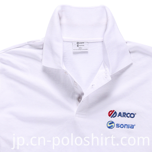 100% Polyester Men Fashion Cheap Slub Polo Shirts