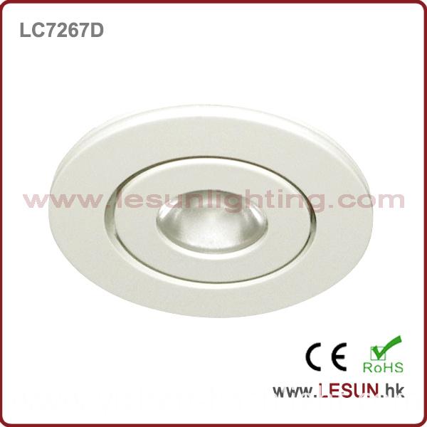 3W LED Adjustable LED Mini Cabinet Light for Showcase