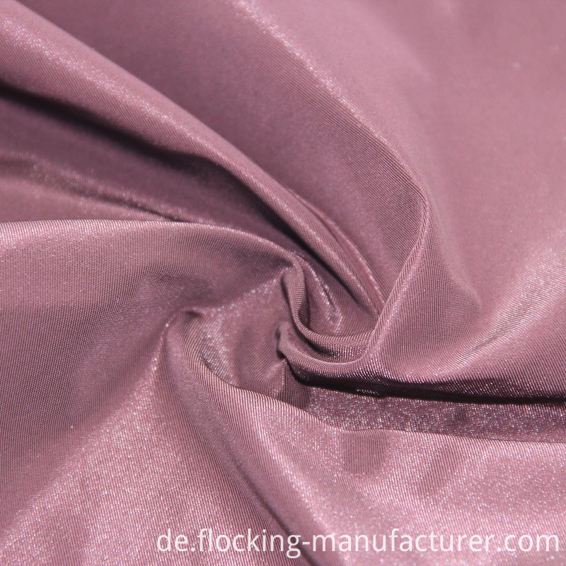 Twill Shiny Semi-Memory Fabric for Shiny Jacket