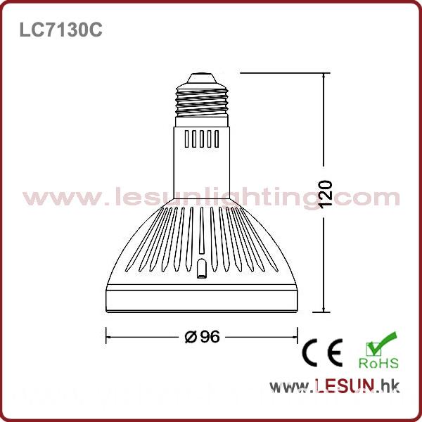 High Quality E27 35W LED PAR30 Light /Spotlight LC7130c