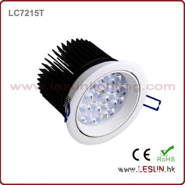 Recessed Instal 12X1w/12X3w LED Ceiling Downlights