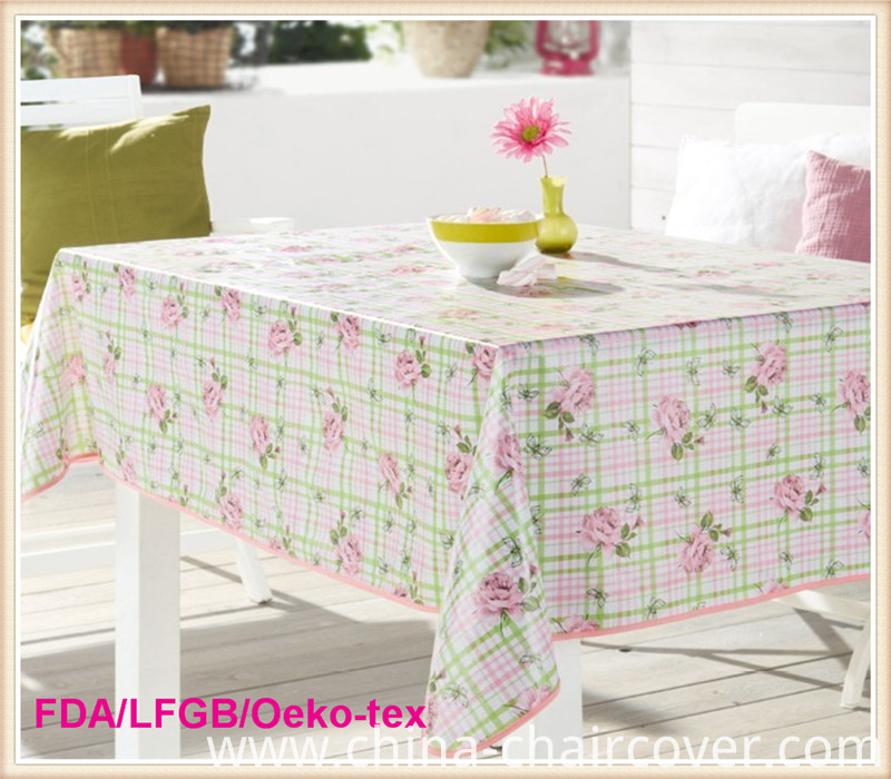 New Design 2016 PVC Table Cover /PVC Tablecloth in Roll Wholesale