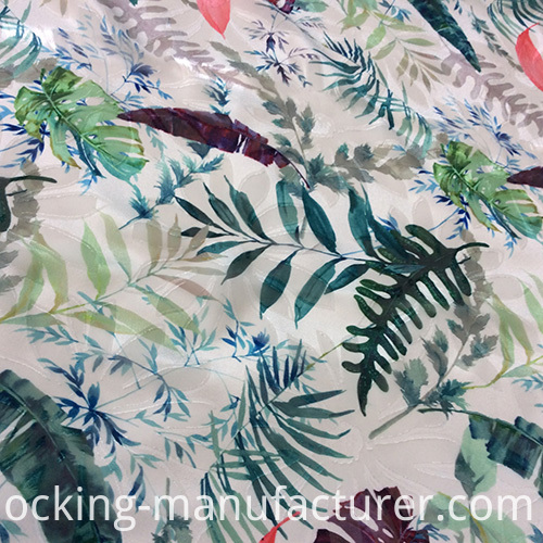 New Fashion Polyester Jacquard Printed Fabric for Upscale Dress/ Skirt