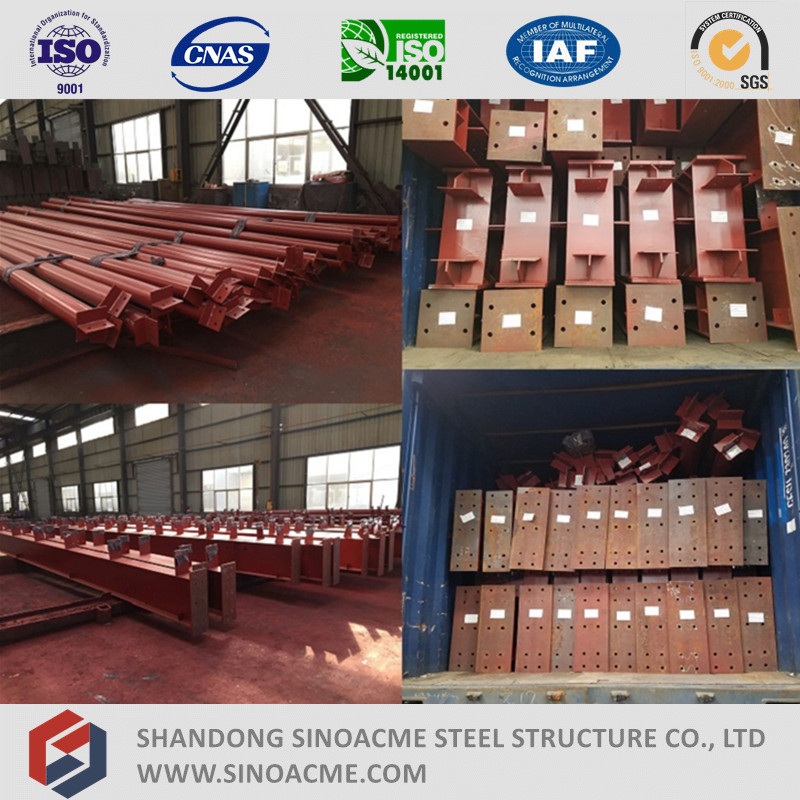 Customized Designed Long Life Heavy Steel Structure for Factory