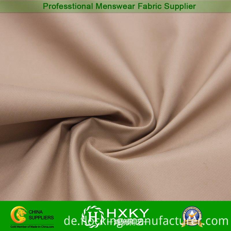 Semi Memory Poly Fabric for Men's Down Coat