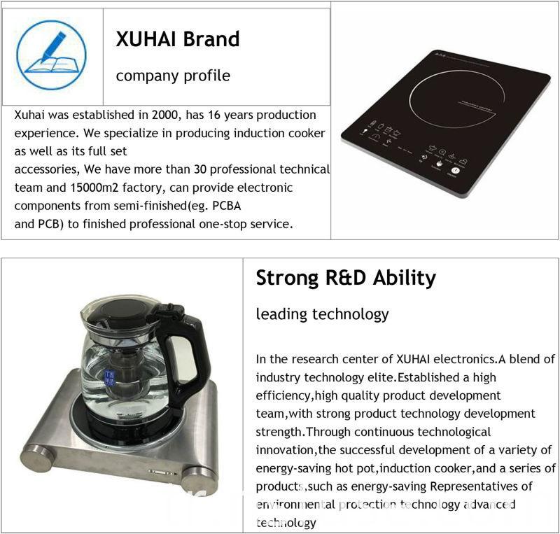 Model Ceramics for Kitchen Electromagnetic Oven