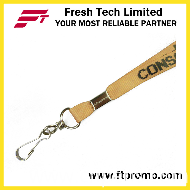 Promotional Gift Polyester Lanyard for Screen Printing