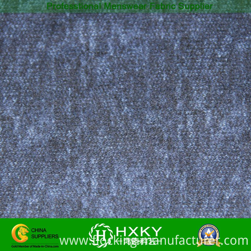 Weaving Printed Polyester Fabric for Men's Jacket