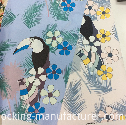 Polyester New Design Printed Garment& Home Textiles Fabric
