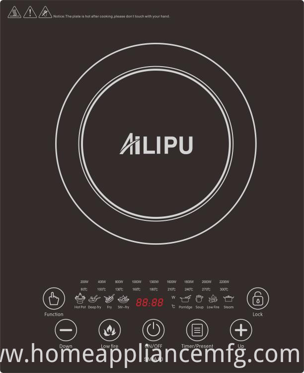 Home Appliance Built-in Style Intelligent Touch Model Induction Cooker