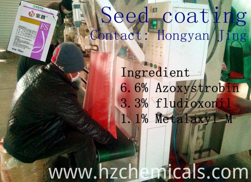 Best Formulator Seed Treatment, Azoxystrobin&Fludioxonil&Metalaxyl-M