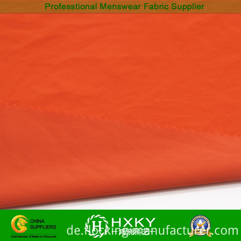 Weft-Elastic Nylon Taffeta Fabric for Casual Down Coat