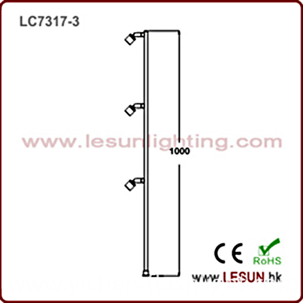 Hot Sales 3W Orsam LED Jewelry Cabinet Showcase Light LC7317-3