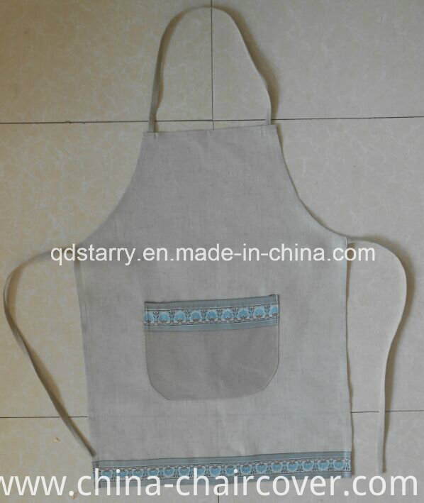 Kitchen Apron Linen Fabric St1781