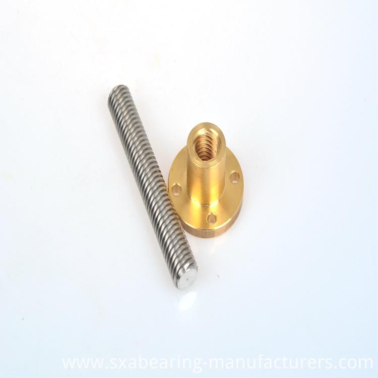 12mm Screw with Brass Nut Tr12