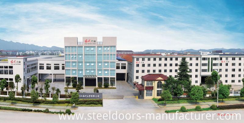 Steel Door Son and Mother Door China Security Door Supplier Top (Fd-527)
