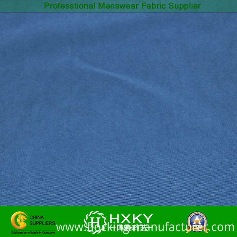 100%Polyester Memory Fabric for Men's Down Coat
